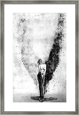 End Of Innocence Framed Print