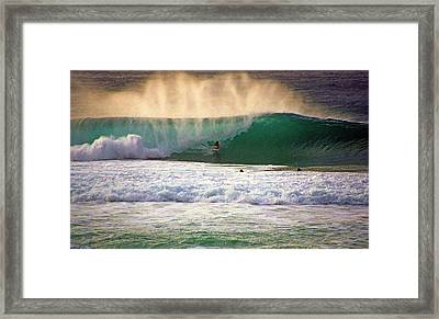 End Of Light Framed Print by Kevin Smith