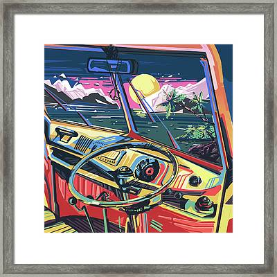 End Of Summer Framed Print by Bekim Art