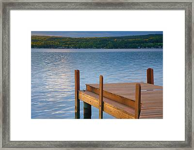 End Of Summer IIi Framed Print