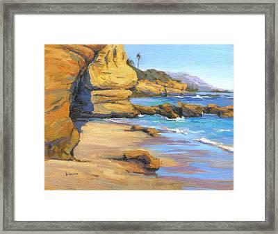 End Of Summer / Laguna Beach Framed Print