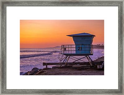 End Of Summer Framed Print by Peter Tellone