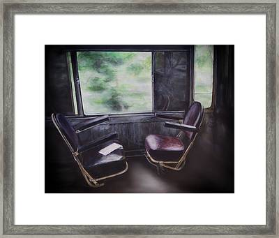 End Of The Day Framed Print by Eclectic