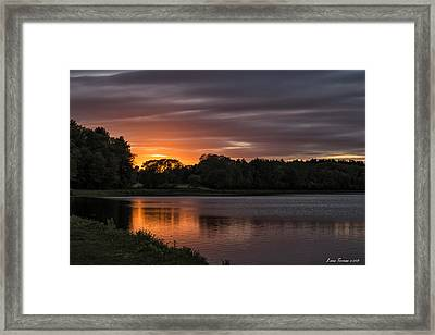 End Of The Day Framed Print by Luis Torres