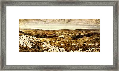 End Of The Earth Framed Print by Jorgo Photography - Wall Art Gallery