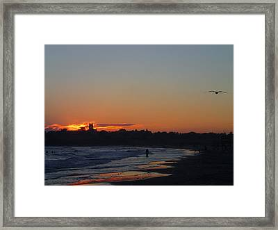 End Of The Island Day. Framed Print by Robert Nickologianis