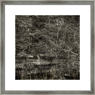 End Of The Journey Framed Print by David Patterson