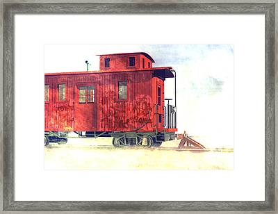 End Of The Line Framed Print by Carol and Mike Werner
