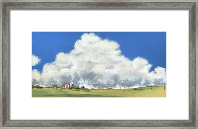 End Of The Line Framed Print by John Wyckoff