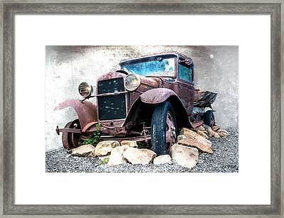 End Of The Line Framed Print by Tom Pickering of Photopicks Photography and Art