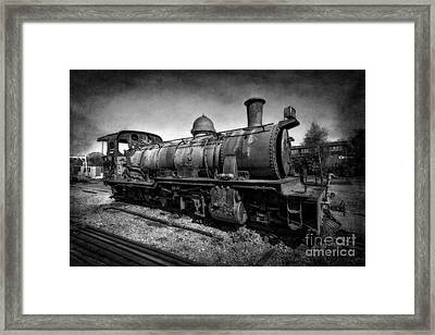 End Of The Line V2 Framed Print by Adrian Evans