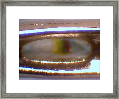 End Of The Rainbow Quantum Jumg  Framed Print by Phillip H George