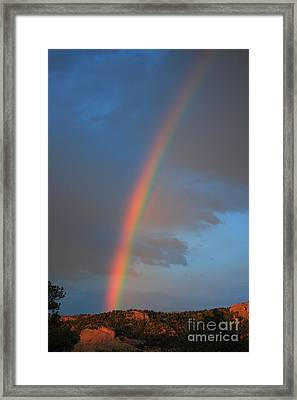 End Of The Rainbow Framed Print