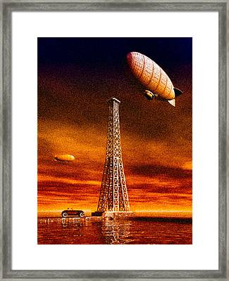 End Of The Road Framed Print by Bob Orsillo