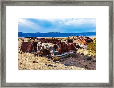 End Of The Road II Framed Print