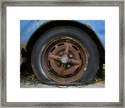 End Of The Road Framed Print by Kevin Myron