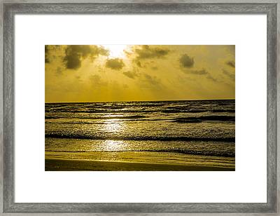 End Of The Season Padre 85 Framed Print