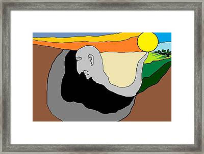 End Of Youth Framed Print by Van Winslow