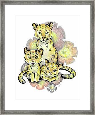 Endangered Animal Amur Leopard Framed Print