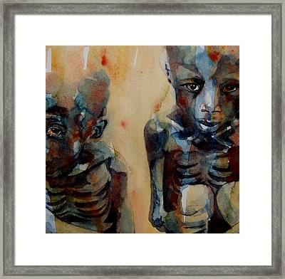 Endangered Spieces Framed Print by Paul Lovering