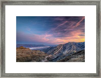 Endeavor To Persevere Framed Print by Charles Dobbs