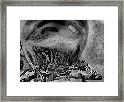 Endeavour Encased Framed Print