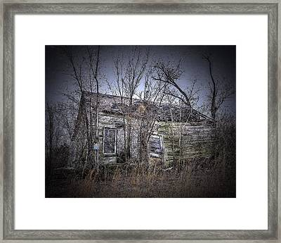 Ending Light Framed Print