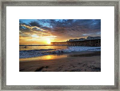 Ending Of The Day Framed Print by Joseph S Giacalone