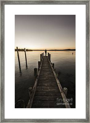 Endings And Beginnings Framed Print by Jorgo Photography - Wall Art Gallery