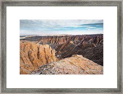 Endless Badlands Framed Print by Alexander Kunz