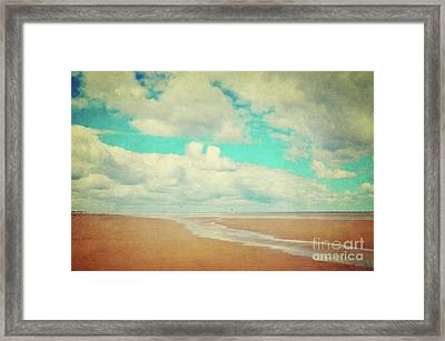 Endless Beach Framed Print