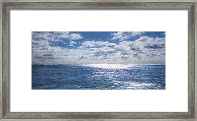 Endless Clouds IIi Framed Print by Jon Glaser