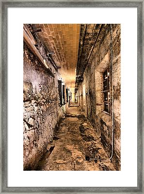 Endless Decay Framed Print by Andrew Paranavitana