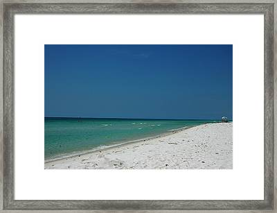 Endless Horizon Framed Print by Susanne Van Hulst
