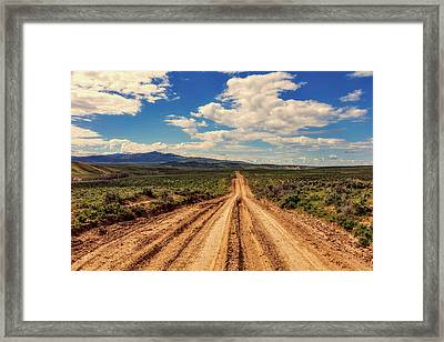 Endless Framed Print by L O C