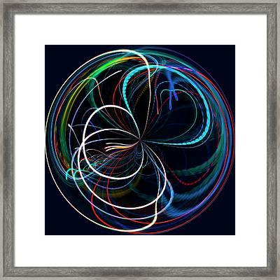 Endless Loop Framed Print