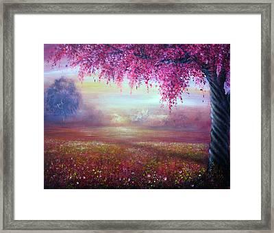 Endless Love Framed Print by Ann Marie Bone