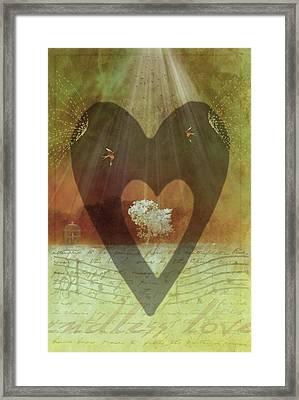 Endless Love Framed Print by Holly Kempe
