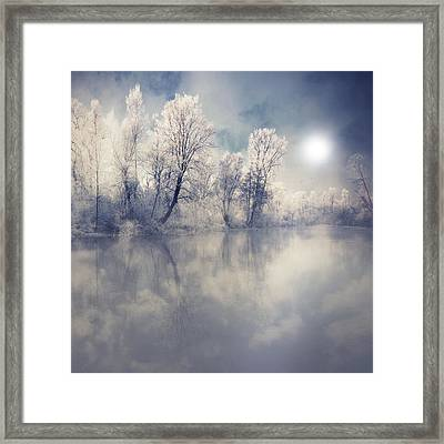 Endless Framed Print by Philippe Sainte-Laudy Photography