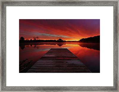 Endless Possibilities Framed Print by Rob Blair