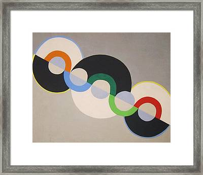 Endless Rhythm Framed Print by Pg Reproductions