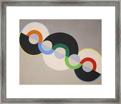 Endless Rhythm Framed Print by Pg Reproductions