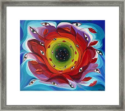 Endless Tunnel Of Love Framed Print