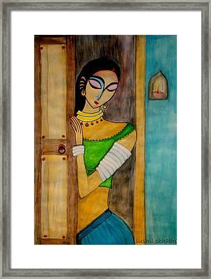 Endless Wait Framed Print by sushil  Chhabra