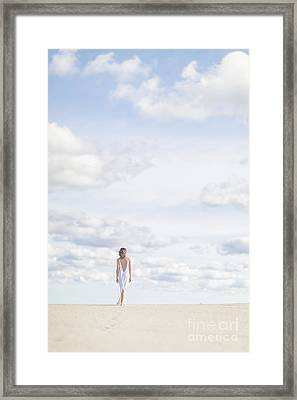 Endlessly Framed Print by Evelina Kremsdorf