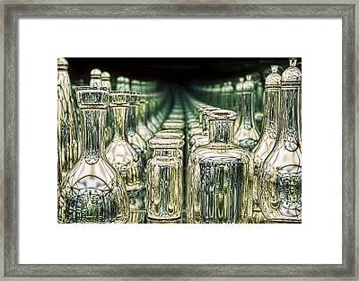 Endlessly Framed Print by Penny Pesaturo