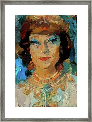 Endora Framed Print