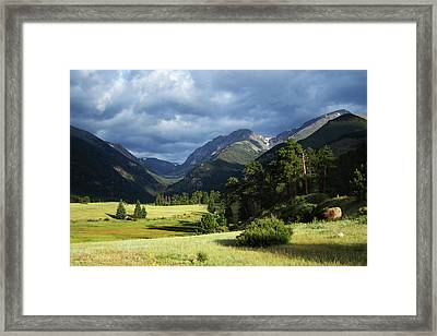 Endovalley Aftenoon Framed Print