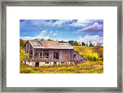 Endurance - Paint Framed Print by Steve Harrington