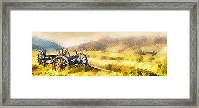 Enduring Courage - Panoramic Framed Print by Greg Collins